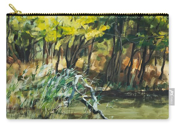 River In Summer Carry-all Pouch