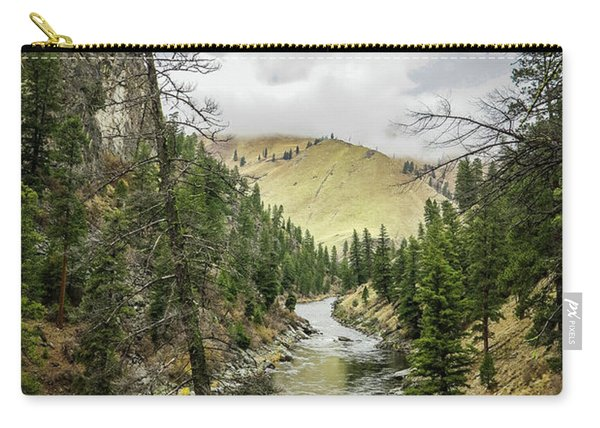 River In The Canyon Carry-all Pouch
