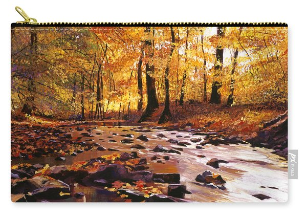 River Of Gold Carry-all Pouch
