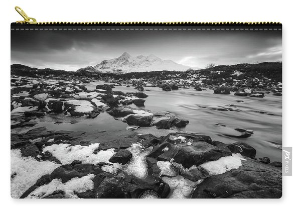 River Sligachan And Black Cuillin, Isle Of Skye Carry-all Pouch