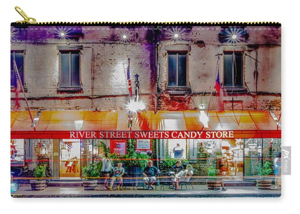 River Street Sweets Candy Store Savannah Georgia   Carry-all Pouch