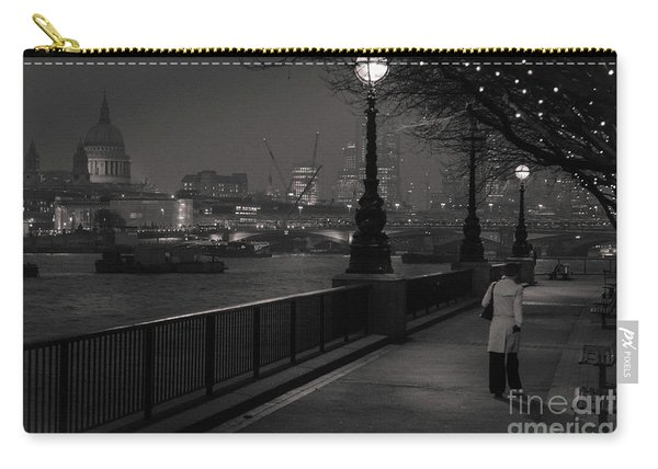 River Thames Embankment, London Carry-all Pouch