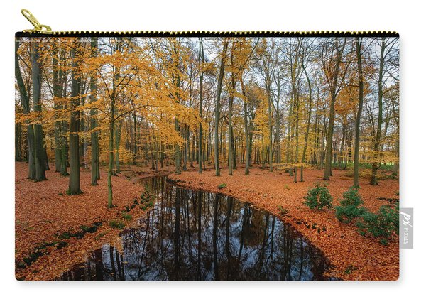 River Through Autumn Carry-all Pouch