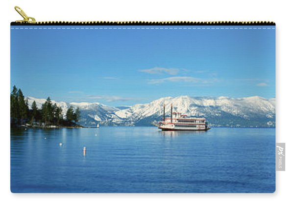 Riverboat On Lake Tahoe, California Carry-all Pouch