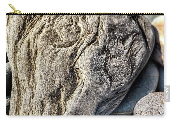 Rivered Stone Carry-all Pouch