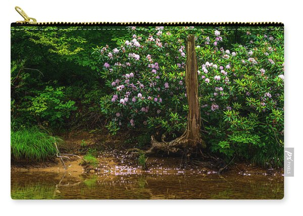 Riverside Rhododendron Carry-all Pouch