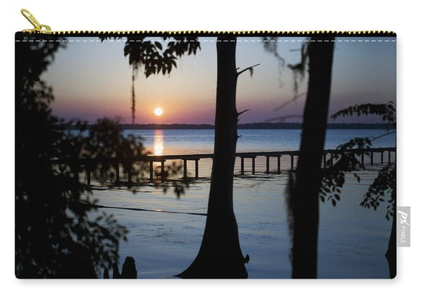 Riverside Sunset Carry-all Pouch