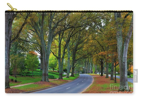 Road In Charlotte Carry-all Pouch