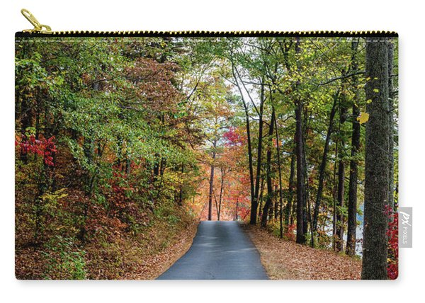 Road In The Woods Carry-all Pouch
