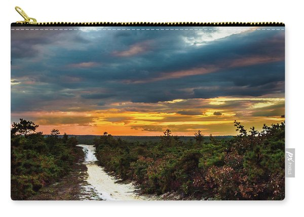 Road Into The Pinelands Carry-all Pouch