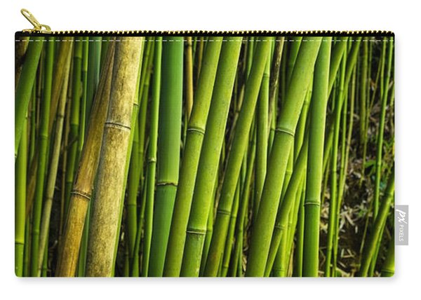 Road To Hana Bamboo Panorama - Maui Hawaii Carry-all Pouch