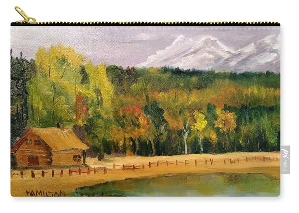 Road To Kintla Lake Carry-all Pouch