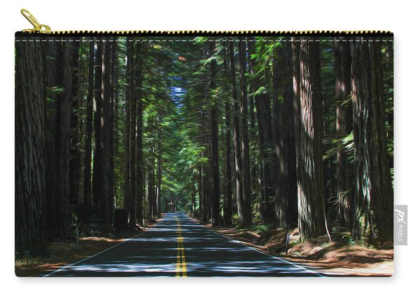 Road To Mendocino Carry-all Pouch