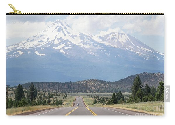 Road To Mt Shasta California Dsc5057 Carry-all Pouch