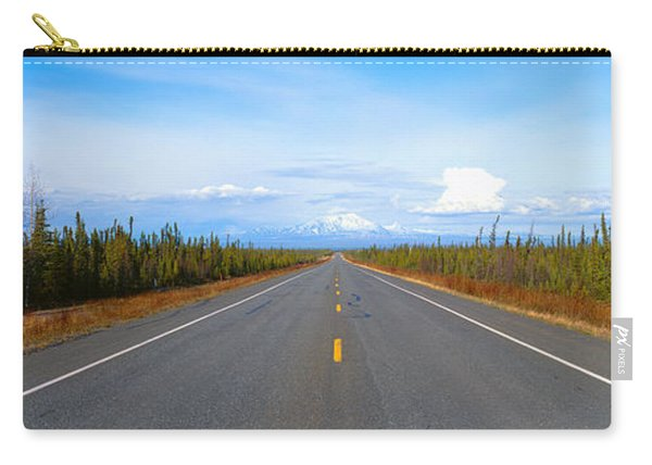 Road To Wrangell, St. Elias National Carry-all Pouch