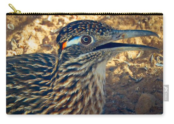 Roadrunner Portrait Carry-all Pouch