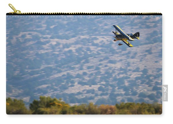 Carry-all Pouch featuring the photograph Rob Caster In Miss Diane 5x7 Aspect, Friday Morning by John King
