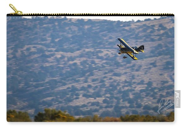 Carry-all Pouch featuring the photograph Rob Caster In Miss Diane, Friday Morning 16x9 Aspect Signature Edition by John King