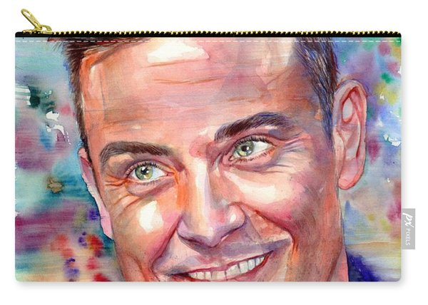 Robbie Williams Portrait Carry-all Pouch