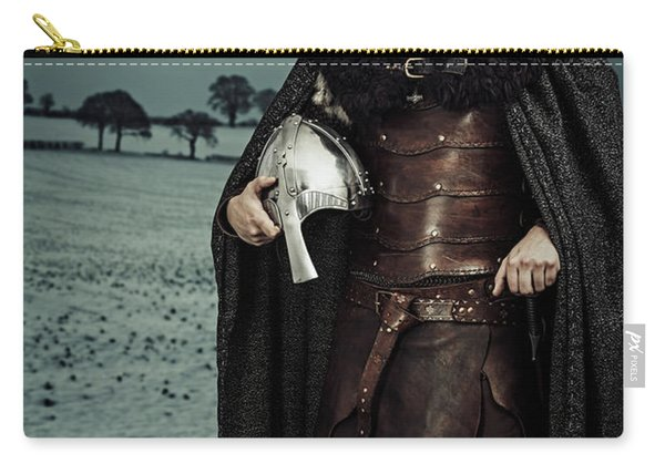 Robed Viking With Helmet Carry-all Pouch