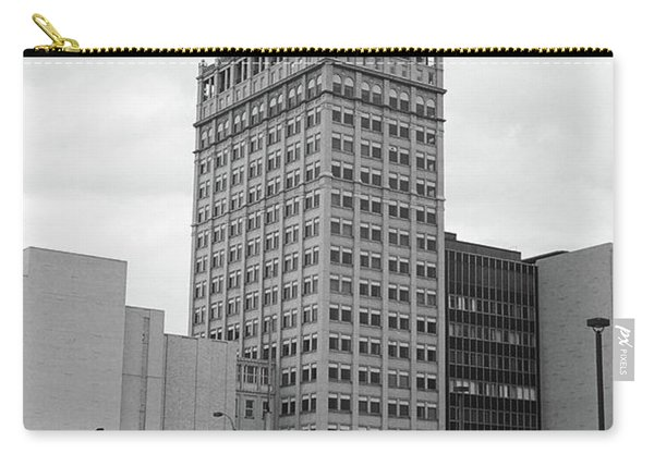 Rochester, Ny - Kodak Building 2005 Bw Carry-all Pouch