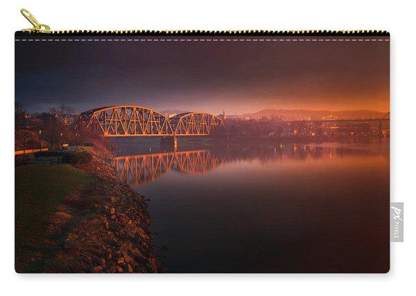 Rochester Train Bridge  Carry-all Pouch