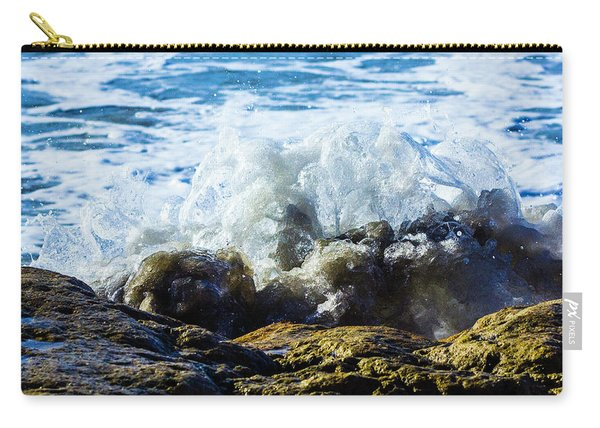Wave Meets Rock Carry-all Pouch