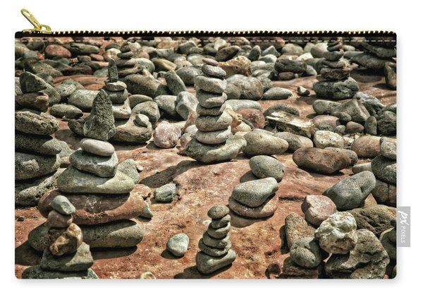 Rock Cairns At Buddha Beach - Sedona Carry-all Pouch