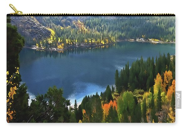 Rock Creek Lake In Fall Carry-all Pouch