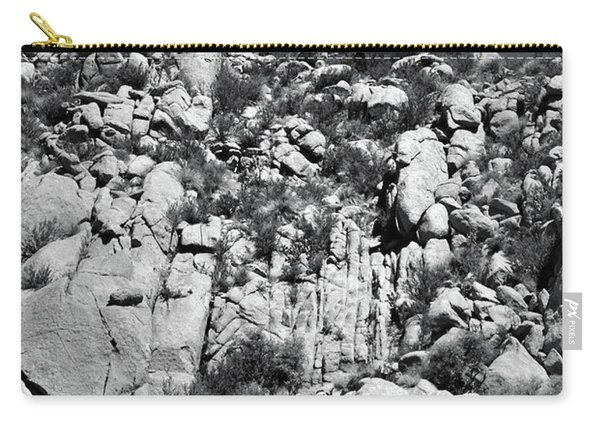 Rock Face Sandia Mountain Carry-all Pouch