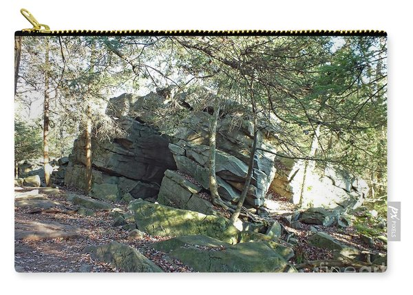Rock Formation - Ricketts Glen Carry-all Pouch