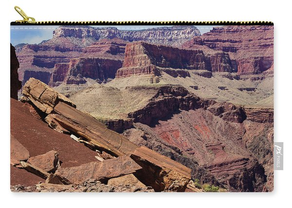 Rock Formations In The Grand Canyon Carry-all Pouch