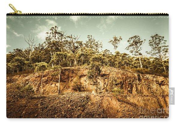 Rock Quarry Landscape Carry-all Pouch