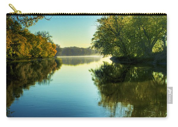 Rock River Autumn Morning Carry-all Pouch
