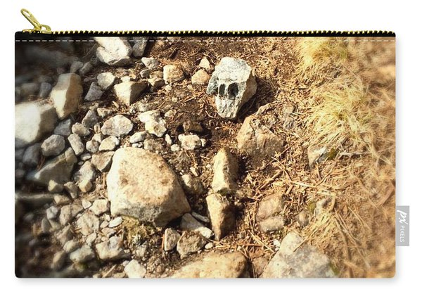 Rock Skull Carry-all Pouch
