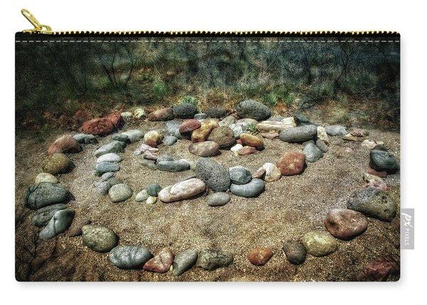 Rock Spiral At Buddha Beach - Sedona Carry-all Pouch
