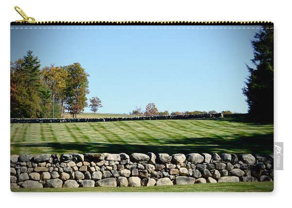 Rock Wall Lawn Carry-all Pouch