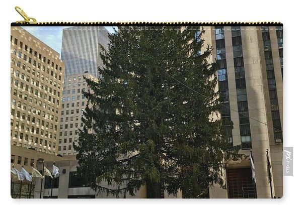 Rockefeller Center Christmas Tree Carry-all Pouch