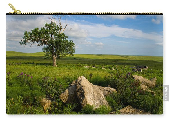 Rocks And Cottonwood 1 Carry-all Pouch