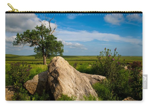 Rocks And Cottonwood 2 Carry-all Pouch