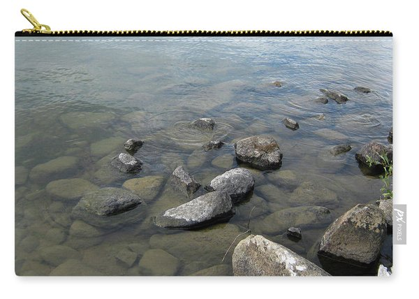 Rocks And Water Too Carry-all Pouch