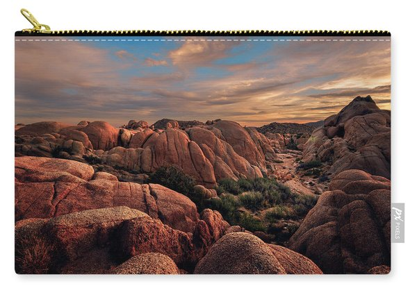 Rocks At Sunrise Carry-all Pouch