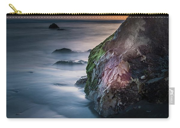 Rocks At Sunset Carry-all Pouch