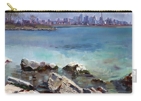 Rocks N' The City Carry-all Pouch