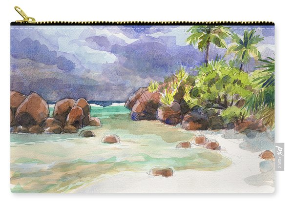 Rocks Of Motu Rakau, Aitutaki Carry-all Pouch