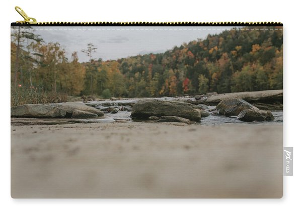 Rocks On Cumberland River Carry-all Pouch