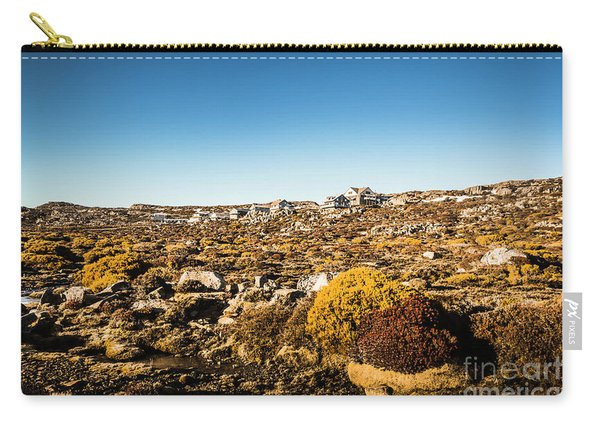 Rocky Alpine Village Carry-all Pouch