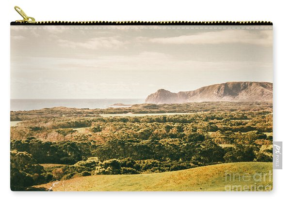 Rocky Capes And Rugged Coasts Carry-all Pouch