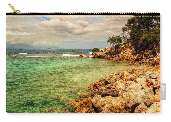 Rocky Coast Carry-all Pouch