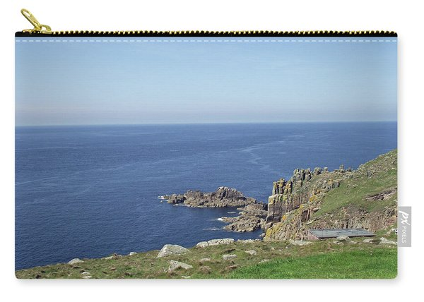Rocky Coastline At Land's End Carry-all Pouch